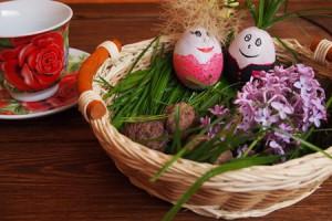 поделка на пасху яйцо