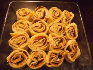 рецепт булочек синнабон