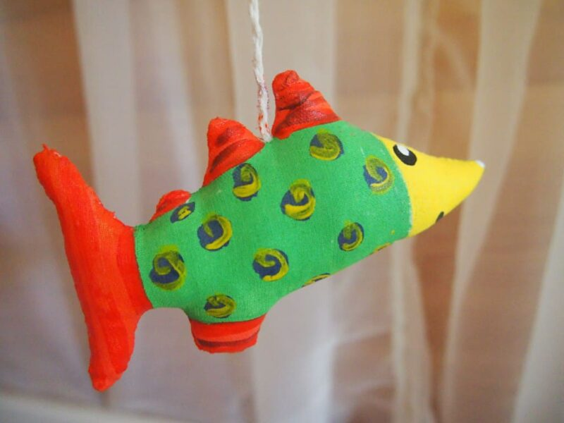 рыбка для мобиль