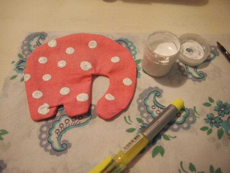 слоник для детской мобиле своими руками мастер-класс