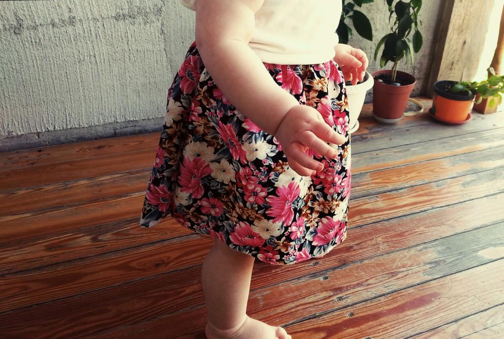 Юбочка для маленькой девочки своими руками