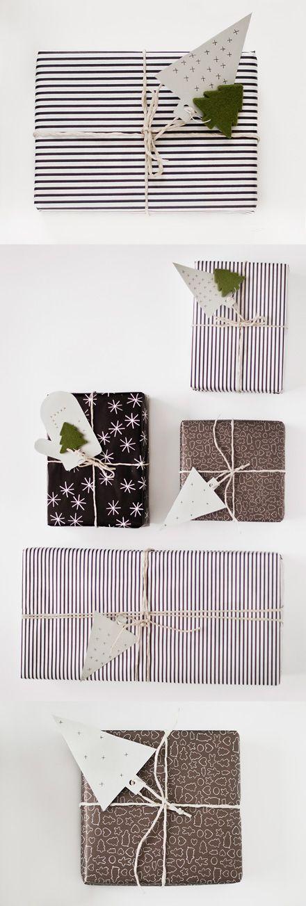 как интересно упаковать новогодний подарок своими руками