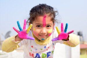 пальчиковые краски как сделать