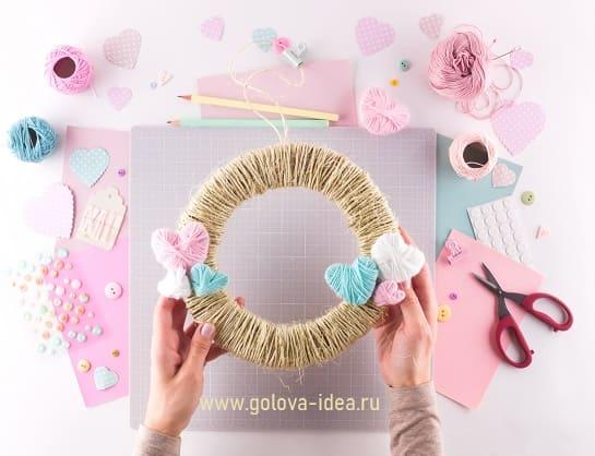 поделка на день святого валентина своими руками для детей