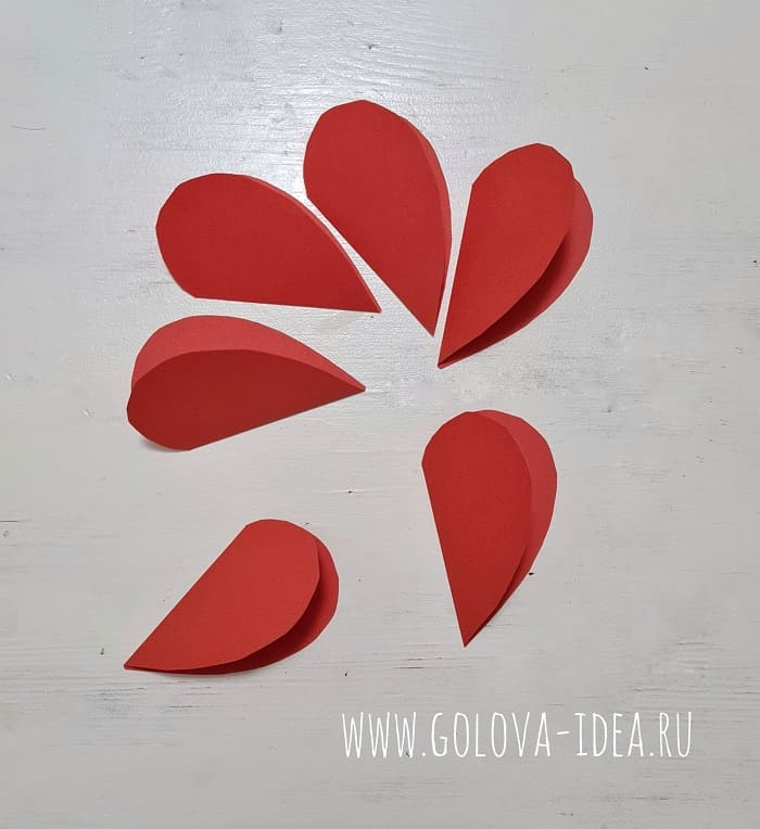 открытка валентинка своими руками на день Валентина